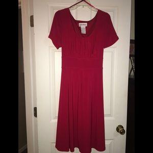 Red Danny & Nicole Dress